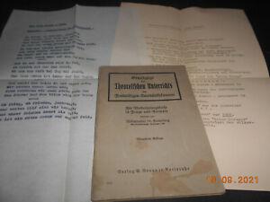 Handbuch Freiwillige Sanitätskolonnen 1933 Lehrbuch