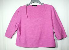 PINK LADIES CASUAL PARTY TOP BLOUSE STRETCHY SIZE 18/44 ALEX & CO