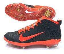 Nib Nike Force Zoom 5 Trout Baseball Cleats Orange Black Mens Sz 12.5 Ah3373-080