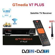 Receptor Satelite GTMedia V7 Plus TV Receiver Full HD 1080P DVB-S2/T+Antena Wifi