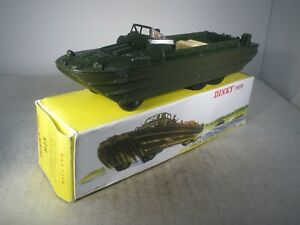 Dinky Toys Military French Dinky DUKW AMPHIBIOUS TRUCK #825 NEAR PERFECT IN BOX