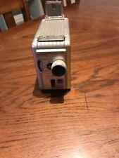 Kodak Brownie 8mm Movie Camera II Silver Vintage