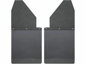 For 1988-1989 GMC R2500 Mud Flaps Rear Husky 43145ZB