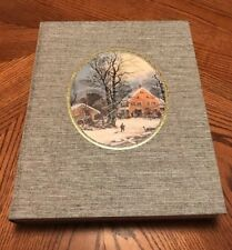 GREAT BOOK OF CURRIER & IVES AMERICA, Walton H Rawls Author Signed No. 494/3000