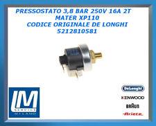 PRESSOSTATO 3,8 BAR 250V 16A 2T MATER XP110 5212810581 DE LONGHI ORIGINALE