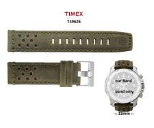 Timex Ersatzarmband T49626 Rugged Field Chrono - Uhren Ersatzband 22mm universal
