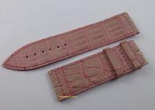Franck Muller Long Island 22mm Pink Alligator Strap OEM