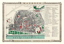 George Bradshaw'S CONTINENTAL Città Piano di J. 1896 - 1000 Pezzo Puzzle