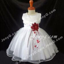 Robes blancs à motif Floral pour fille de 0 à 24 mois
