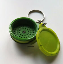Tupperware Schlüsselanhänger MicroGourmet NEU & OVP Mikro Gourmet Grün Keychain