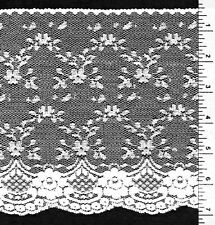 """7""""  Delicate Flat White VictorianLace  (5 yards)"""