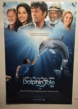 Original Movie Poster Dolphin Tale Double Sided 27x40