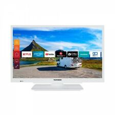 Telefunken XH24G501V-W LED-Fernseher 61cm 24 Zoll Smart TV 400Hz DVB-T2/C/S2 wei