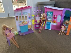 Barbie Pet Care Centre Animals Playset With Barbies And Accessories