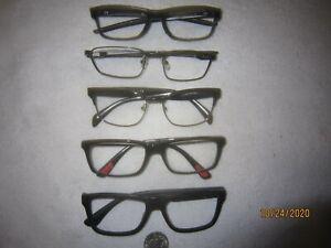 Mixed Lot of 5 Oakley-Prada Eyeglasses Mens Womens Retro College Hollywood SEXY