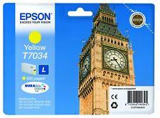 Epson T7034 Tintenpatrone Big Ben, Singlepack gelb