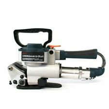 More details for 13-19mm pneumatic baler plastic band strapper pp tape welding strapping machine