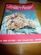 Vintage 1974 12 issues Lapidary Journal Magazine Full Year Set 1974