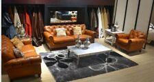 Chesterfield 3+2+1 Sofa Couch Polster Garnitur Set Sofas Couchen Sitzer BMS II
