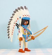 Playmobil Indian figure with bow Indiaan figuur wapen figurine cowboys western