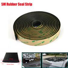 Car Windshield Window Edge Guard Sealing Strip Weatherstrip Rubber Waterproof 5M