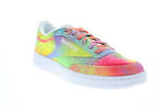 Reebok Club C 85 FX4772 Mens Pink Nylon Lifestyle Sneakers Shoes