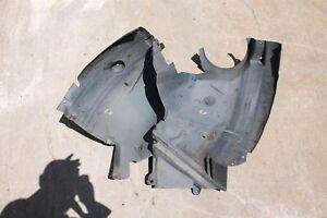 OEM Mercedes W209 CLK350 04-09 Left Front Driver Inner Fender Liner 2 Pieces