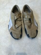 Men's PUMA Running Shoes Sport Lifestyle Tan With Beige Accent Size 11 Vintage