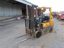 New ListingTcm Fcg25F9 5,000Lb Warehouse Industrial Propane Forklift Lift Truck bidadoo