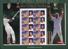 40923) AUSTRALIA 2006/7 MNH** Cricket Australia VS England M/S