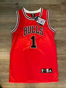 Chicago Bulls NBA Authentic Adidas Derrick Rose Jersey Sz. 50 New