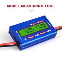 Digital DC 60V Combo Meter LCD Watt Power Volt Amp RC Battery Charging Analyzer