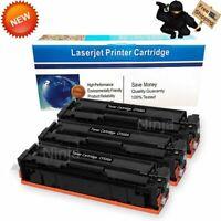 3pk Black CF500A Toner for HP 202A LaserJet Pro M254dw M280nw M281cdw M281fdw