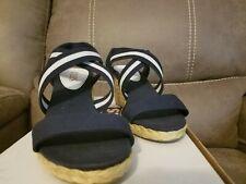 b98e3fc6433 Chaps Espadrilles Sandals & Flip Flops for Women for sale   eBay