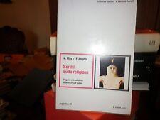 SCRITTI SULLA RELIGIONE - K. MARX - F. ENGELS - SAVELLI - LA NUOVA SINISTRA -SAG