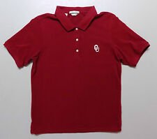 OKLAHOMA SOONERS NCAA Cutter & Buck Embroidered Youth M Golf Polo Shirt – Excel