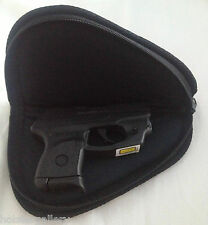 """Soft Padded Case Pistol Gun Rug Assorted Colors 8""""x5"""" perfect for small 380"""