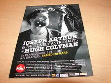 JOSEPH ARTHUR - HUGH COLTMAN !!!!!!!!!RARE FRENCH FLYER