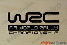 PEGATINA / STICKER / WRC Fia World  Rally Championship