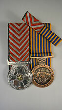 Set of 2 Replica Court Mounted Australian Ambulance Service Medal National Medal