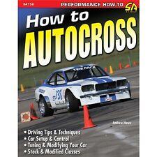 SA158P How To Autocross Book Driving Tips Car Setup Road Race Tuning Modifying