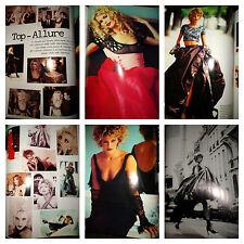 Helena Christensen Claudia Schiffer Nadja Auermann clippings Vogue Italia 1994