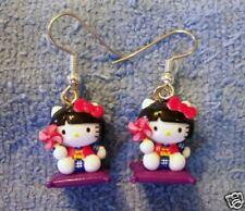 BIJOU ENFANT ADO Boucles d'oreilles Hello Kitty Sanrio
