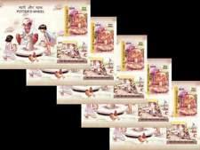 INDIA 2018 Potter's Wheel Art Birds Craftsman Miniature sheet wholesale lot of 5