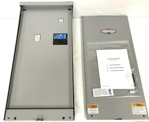 New BRIGGS & STATTON 071271 ATS Automatic Transfer Switch 200A Amps 240V 1 Phase