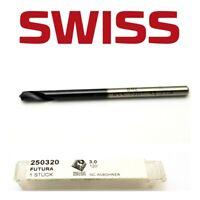 3mm HSSCo5 120 DEGREE NC ANB0HRER SPOT SPOTTING DRILL BRUTSCH RUEGGER SWISS