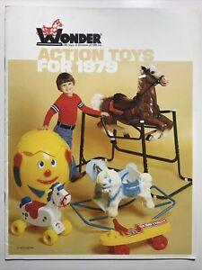 1979 Wonder Toy Catalog Spring Horses Rawhide Cheyenne Bucky The Wonder Horse