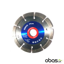 Obas Plus 125mm | 5″ General Masonry Application Diamond Cutting Disc Blade