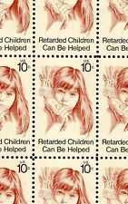 1974 - RETARDED CHILDREN - #1549 Full Mint -MNH- Sheet of 50 Postage Stamps