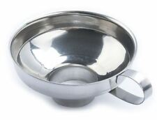 Stainless Steel Canning Funnel, Wide Mouth Jar Funnel w/ Handle kitchen tool oil